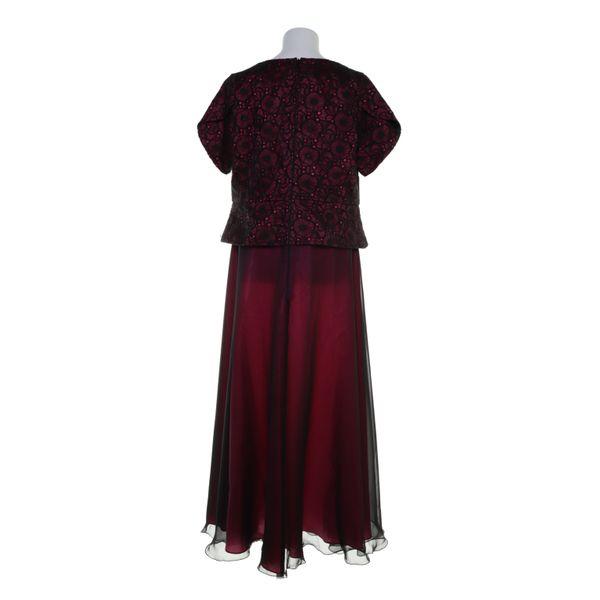 raberg, abendkleid, größe: 46/48, schwarz/rot | ebay