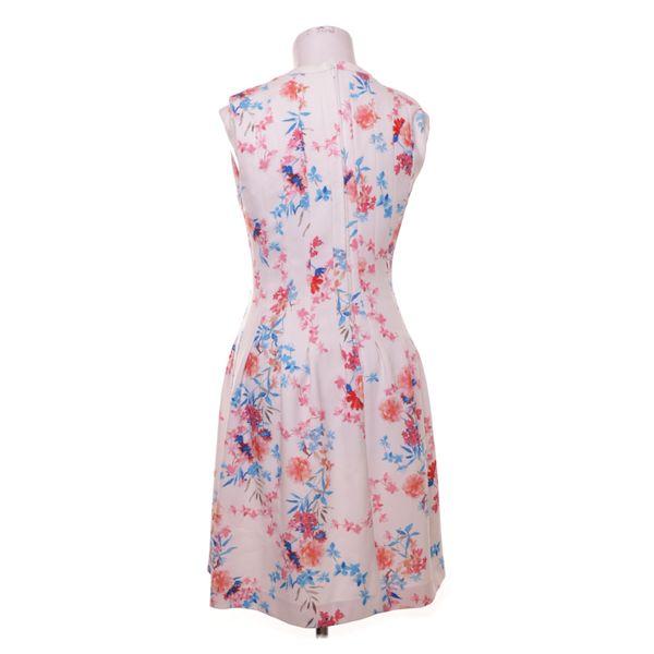 H&M Modern Classic, Kleid, Größe: 38, Weiß/Pink/Mehrfarbig ...